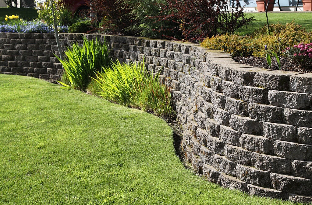 Landscape Ideas – Uses Retaining Walls
